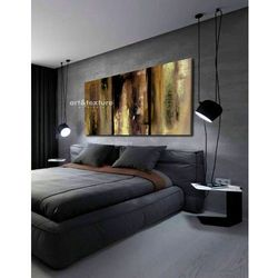 Naturalna fatamorgana - abstrakcyjne obrazy do modnego salonu rabat 10%