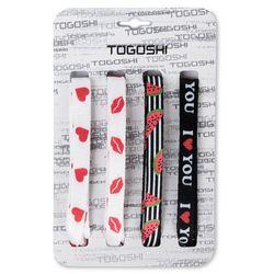 Zestaw sznurówek do obuwia TOGOSHI - TG-LACES-120-4-WOMEN-006 Biały Czarny Kolorowy
