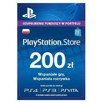 Klucze i karty przedpłacone, Sony PlayStation Network 200 zł [kod aktywacyjny]