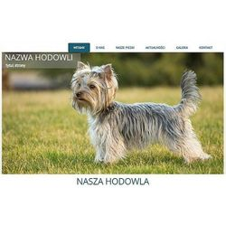 Szablon Joomla / WordPress dla hodowli psów SH2a