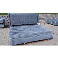 Przęsła i elementy ogrodzenia, Panel ogrodzeniowy ocynkowany Fi4 1230x2500 mm
