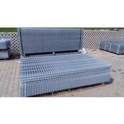 Panel ogrodzeniowy ocynkowany Fi4 1230x2500 mm