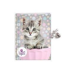 Pamiętnik z kłódką Kot The Sweet Pets. Darmowy odbiór w niemal 100 księgarniach!