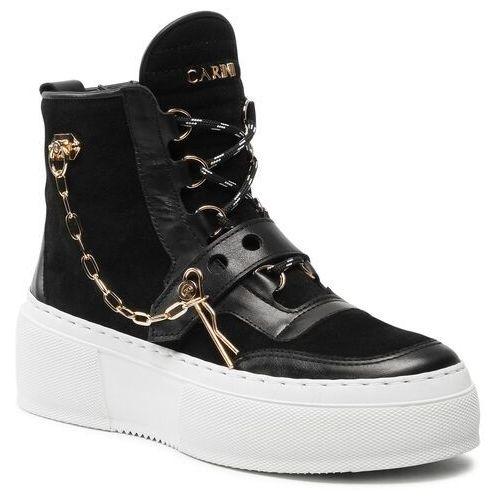 Damskie obuwie sportowe, Sneakersy CARINII - B7051 J23-H20-000-E41