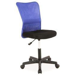 Fotel młodzieżowy obrotowy SIGNAL Q-121 niebieski