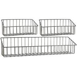Ib Laursen - Koszyki - zestaw 3 półek metalowych