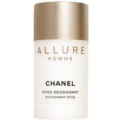 CHANEL - Allure Homme Dezodorant w sztyfcie DST 75 ml Dla Panów
