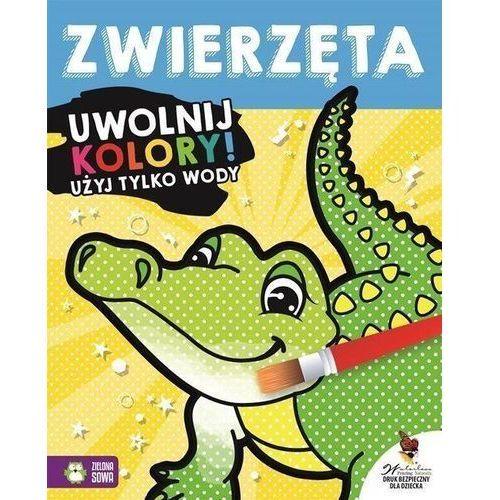 Książki dla dzieci, Uwolnij kolory Zwierzęta (opr. miękka)