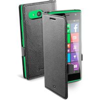 Etui i futerały do telefonów, Pokrowiec CELLULAR LINE Book Essential do Nokia Lumia 735 BOOKESSENL735K Czarny