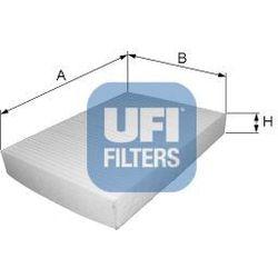 Filtr, wentylacja przestrzeni pasażerskiej UFI 53.038.00