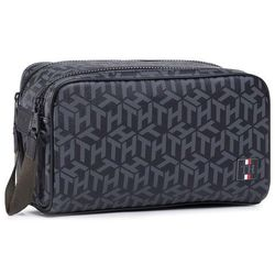 Kosmetyczka TOMMY HILFIGER - Coated Canvas Washbag AM0AM06514 0GJ