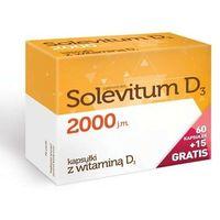 Witaminy i minerały, Solevitum D3 2000j.m. x 60 kapsułek + 15 gratis!