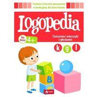 Książki dla dzieci, LOGOPEDIA ĆWICZENIA I WIERSZYKI Z GŁOSKAMI K G ORAZ L (opr. broszurowa)
