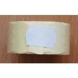 Rolka do metkownicy dwurzędowej - 2,6x1,6cm biała falista