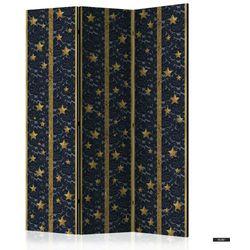 SELSEY Parawan 3-częściowy - Koronkowy gwiazdozbiór