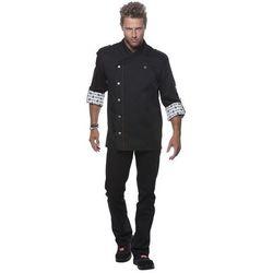 Bluza kucharska, rozmiar 56, czarna   KARLOWSKY, Rock Chef