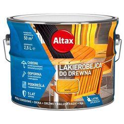ALTAX- lakierobejca do drewna, sosna, 2.5 l