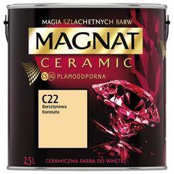 Farba Ceramiczna Magnat Ceramic C22 Bursztynowa Komnata 2.5l