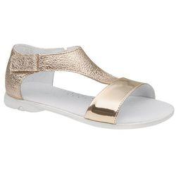 Sandałki dla dziewczynki KORNECKI 4750 Złote Brokat - Złoty