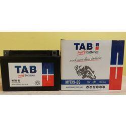 Akumulator motocyklowy TAB YTX9-BS (MYTX9-BS) 12V 8Ah 100A L+