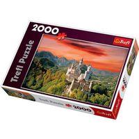 Puzzle, Puzzle TREFL Nowy Łabędzi Kamień 2000 elementów