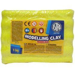 Modelina 1 kg żółta - Astra
