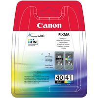 Tusze do drukarek, Canon Atrament PG-40/CL-41 Multi Pack 2 Cartridges