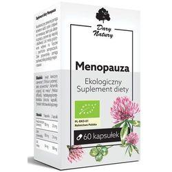 Menopauza 60kaps. Ekologiczny Suplement diety DARY NATURY