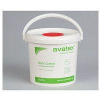 Ściereczki samochodowe, AVATEX Static Control - ściereczki nasączone alkoholem