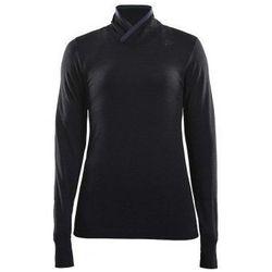 CRAFT Golf damski FUSEKNIT COMFORT WRAP - rozmiar M - kolor czarny