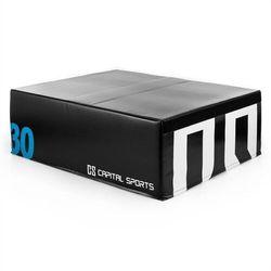 Capital Sports S Rookso SoftJUmp Box Plyoskrzynia plyometryczna do skoków 90x30x75 cm czarn