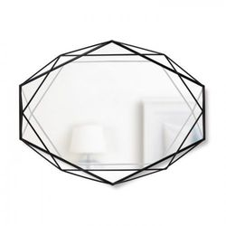 UMBRA – Lustro, czarne, Prisma 56 x 42cm