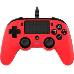 Kontroler BIGBEN Nacon Compact Czerwony (PS4) + DARMOWY TRANSPORT!