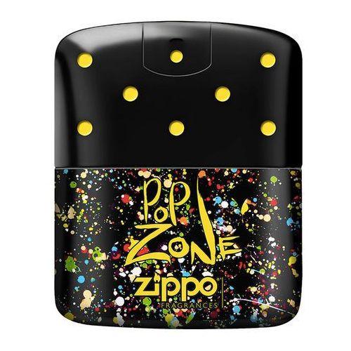Wody toaletowe męskie, Zippo Fragrances PopZone Men 75ml EdT