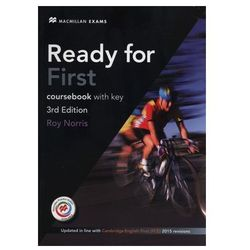 Ready for First (FCE) (3rd Edition) Student´s Book with Key with Macmillan Practice Online, Online Audio & eBook Norris, Roy
