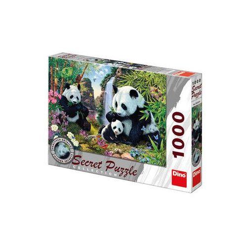 Puzzle, Pandy - puzzle 1000 dílků secret collection neuveden