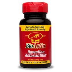 Astaksantyna Hawajska BioAstin Hawaiian Astaxanthin 4mg 60 kapsułek kenayAG