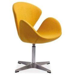 Nowoczesny fotel DEVON yellow