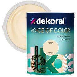 Farba Dekoral Voice of Color beżowy jasny 5 l