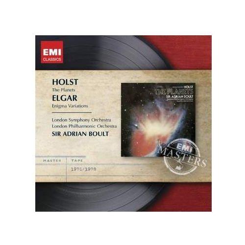Pozostała muzyka rozrywkowa, ENIGMA VARIATIONS / THE PLANETS - Adrian Sir Boult (Płyta CD)