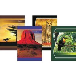 Zeszyt kartka A4 96 kartek, losowy wzór okładki - X06059