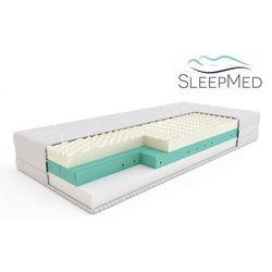 SLEEPMED SUPREME - materac termoelastyczny, piankowy, Rozmiar - 140x200 WYPRZEDAŻ, WYSYŁKA GRATIS