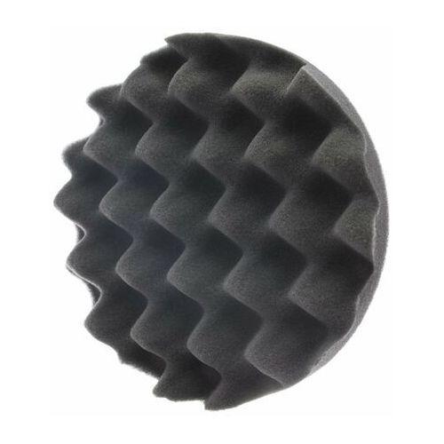 Gąbki samochodowe, RRC Wave 135mm czarna miękka gąbka polerska