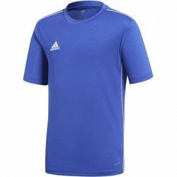 adidas Core 18 Jersey koszulka dziecięca, uniseks niebieski Blau (Bold Blau/White) 164
