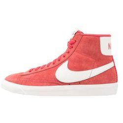 Nike Sportswear BLAZER MID VNTG SUEDE Tenisówki i Trampki wysokie speed red/sail/black