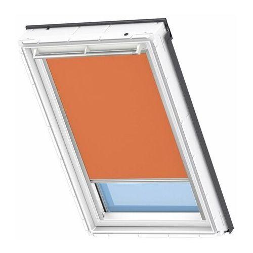 Rolety, Roleta na okno dachowe VELUX elektryczna Premium DML SK06 114x118 zaciemniająca