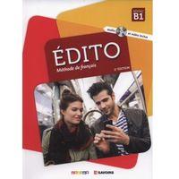Książki do nauki języka, Edito B1 Methode de francais + CD - Dufour Marion, Mainguet Julie, Mottironi Eugenie (opr. miękka)