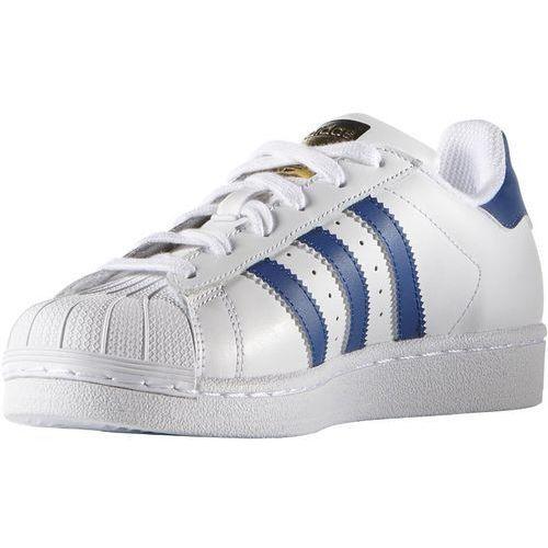 Obuwie sportowe dziecięce, adidas Originals SUPERSTAR FOUNDATION Tenisówki i Trampki white/blue