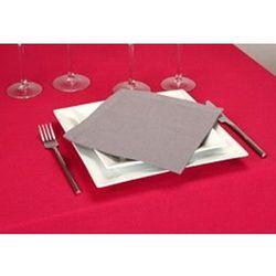 Serwetki bawełniana - 4 sztuki, zastawa stołowa, 40 x 40 cm, kremowy