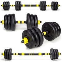 Hantle, Hantle treningowe kompozytowe 2 x 10kg. HC-2.29-10